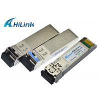 Bidirectional SFP+ Transceiver Module 20KM TX1330nm / RX1270nm SM Datacom for sale