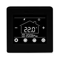 Programmable Underfloor Heating Thermostat 16A With Black / White Color for sale
