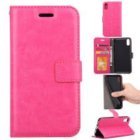 Buy Apple Iphone Crazy Horse Leather Wallet Case Three Id Card Slot For Iphonex at wholesale prices