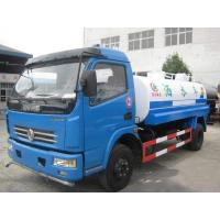 Quality Dongfeng Used Oil Tanker 7350×2470×2710mm 10000L Tank Capacity With Red Diesel Motor for sale