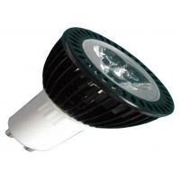 Quality 3W GU10 Replacement LED Spotlight Bulbs Pure White / Cold White 300lm 45° for sale