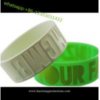Quality HOT Sale! Custom Design Colorful silicone wristband, best printed rubber wristband for sale