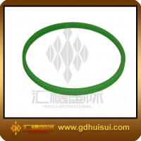 Quality  green color narrow silicone  bracelet for sale