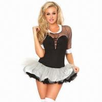 Quality Briar Rose Costume, Includes Blouse, Lace Up Corset, Mimi Skirt and 2 Layers Petticoat for sale