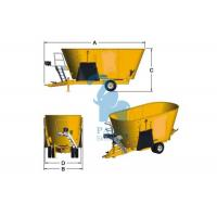 Buy Ration Eco Animal Feed Mixer Vertical Type For Meadow Stable Performance at wholesale prices