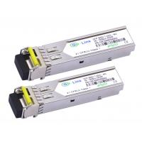 120KM 1.25G Fiber BIDI Optical Transceiver HP Compatible 1310nm / 1550nm for sale