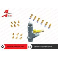 Buy Aviation Aluminum Injector Backflow Connector Golden For Bosch / Denso JY05 at wholesale prices