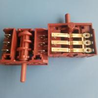Quality SD Series Multi Position Rotary Switch 3 / 4 / 5 / 6 Position For Oven for sale