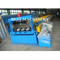 Quality Steel Concrete Floor Decking Sheet Tile Roll Forming Machine Zinc Coating for sale