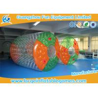 Quality Water Bottle inflatable roller ball Colorful Or Transparent Dots for sale