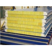 Quality High Strength Glass Wool Composite Sandwich Panel Sound Insulation and Fireproof for sale