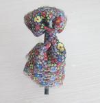 Quality Gauze Butterfly Narrow Headband 2A0004 for sale