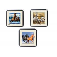 Quality Office / Hotel Decoration Animal Picture 5d Lenticular Picture With Frame for sale