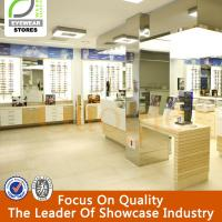 Interior Display Showcase Designs Of Optical Shops for sale