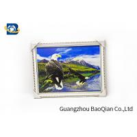 Quality 3D Gift PET 3D Lenticular Pictures Flips Photo Of Eagle Animal Support Printing Service for sale