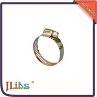 Carbon Steel Single Ear Pipe Clamp , Worm Gear Pipe Clamp ISO9001 Certification