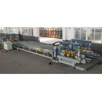 Quality 1300 mm Flat Glass Edging Machine For Glass Two Sides Straight Line Edges for sale