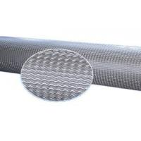Quality Custom Wave Line Type Anilox Roller For Plastic Sheet , Board Surface Embossing for sale