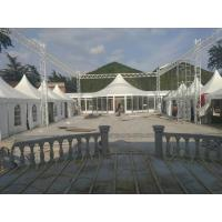 Waterproof Big Top Canopy Tent Double PVC Coated Air Conditioned Windproof for sale