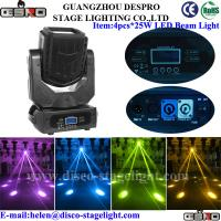 Quality 4pcs*25W led supper beam moving head for sale