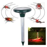 China Solar Power ultrasonic mouse repellent Rodent Mole Rodent Repeller on sale