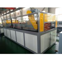 Quality Outdoor / Indoor Flooring Window Door PVC Extrusion Line With Different Mould Plastic Extrusion Lines for sale