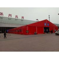Big Aluminium frame Red PVC cover Marquee Commercial Canopy Tent for Outdoor Party for sale