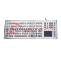 Quality Rugged Desktop Industrial Metal Keyboard Stainless Steel Keyboard for sale