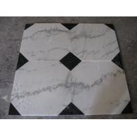 Guangxi White Marble Floor Tiles,Chinese Carrara Marble White Marble Designed Indoor Flooring,White Marble Floor Stone for sale