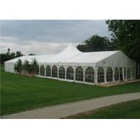 Quality White Fabric Cover Heavy Duty Marquee Banquet Tent Strong Cold Resistance for sale