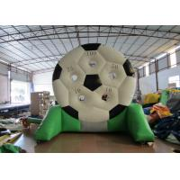 Quality High Durability Inflatable Football Games waterproof PVC inflatable football shooting games for sale