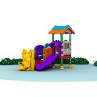 Buy Little Kids Outside Playset / Kids Plastic Play Structure With Slide  TQ-QS004 at wholesale prices