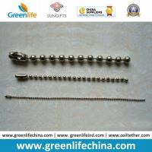 China Custom Ball Dia W/Customized Length Metal Bead Snake Chain on sale