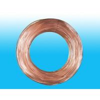 Round 4mm X 0.5 mm Copper Coated Bundy Tube For Water Coolers for sale
