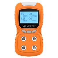 China OC-840 portable multi gas detector with pump suction for sale