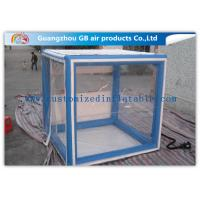 China OEM Inflatable Transparent Tent With Removable Walls & Roof for Temporary Storage Shed for sale