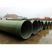 Quality FRP Pipes Filament Winding FRP Pipe Reinforced Plastic Mortar Pipe/ GRP FRP Pipe for sale