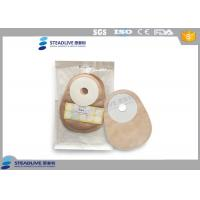 Quality Closed Type Single Piece Urine Colostomy Bag With Foam Wafer , 25mm Max Cut for sale