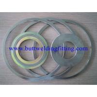 Quality Corrugated Flat Metal SS Spiral Wound Gasket Super Dulpex 32760 F55 for sale