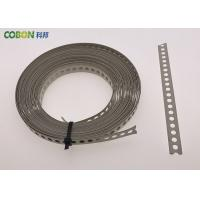 Quality Perforated Metal Fixing Band 10m Galvanized Steel With Color Powder Coated for sale
