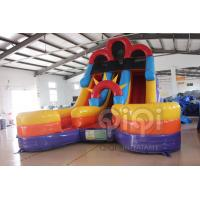 Quality Inflatable Double Splash Water Slide for sale