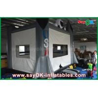 Quality 0.6mm PVC 4x3m Grey Inflatable Jumping Castle Popular Happy Hop Bouncy Castle for sale