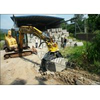 Quality 5 Tooth Excavator Rock Grab 1400mm Jaw Opening Hydraulic Power CE Certified for sale