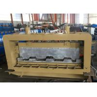 Quality Professional Metal Building Hydraulic Floor Deck Sheet Roll Forming Machine 6kw 50-60HZ for sale
