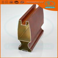 Quality China 2017 Champage brush aluminum window profile, Matt aluminum window section, window profile for sale