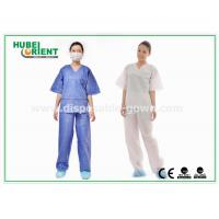 Breathable Surgical Disposable Protective Gowns Shirt and Pant Hospital use for sale