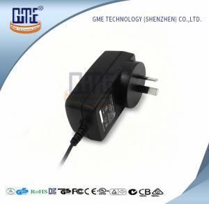 Quality GME 18W Australia Plug Adapter , Black AC DC Universal Power Adapter for sale