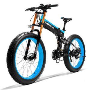 China Folding 1000W Fat Folding Electric Bike 26 Inch 13AH Panasonic Battery on sale