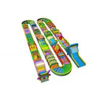 China Custom Indoor Outdoor 5K Run Inflatable Obstacle Course For Kids on sale
