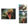 Buy cheap Modern OEM 3D Animals Images , Custom Lenticular Printing Flip Effect from wholesalers